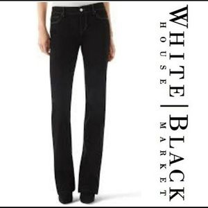 🔥Just In🔥 WHBM BLANC BLACK BOOTLEG JEAN